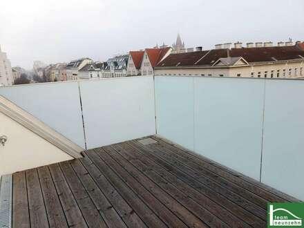 Dachgeschosstraum - Nähe Prater - Urbanes Wohnen - ideale Raumaufteilung - Balkon & Terrasse - toller Ausblick