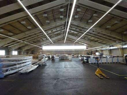 2.013 m² große Mehrzweckhalle in einem zentral gelegenen Grazer Büro- & Logistikcenter