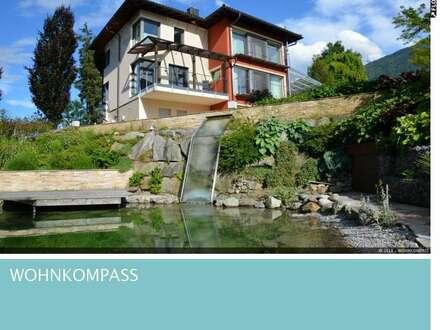 Aldrans: Luxuriöses Wohnhaus mit Indoor-Pool und Teich in Ruhelage!