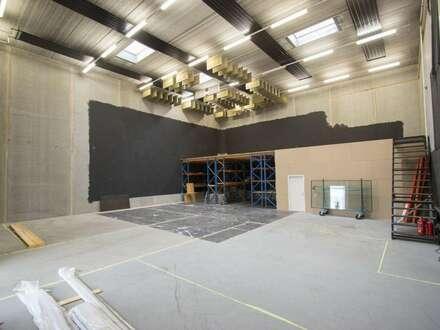 Individueller Bürokomplex mit großzügiger Halle!