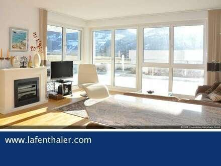 HIER SIND SIE AUF DER SONNENSEITE, neuwertige 4-Zi. Wohnung in absolut ruhiger Umgebung mit großer Terrasse und traumhaften…