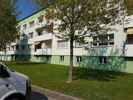 Preiswerte 3-Raum-Wohnoase mit Balkon in malerischer innviertler Landschaft im auftrebenden Schärding in der beliebten WAG-Siedlung!…