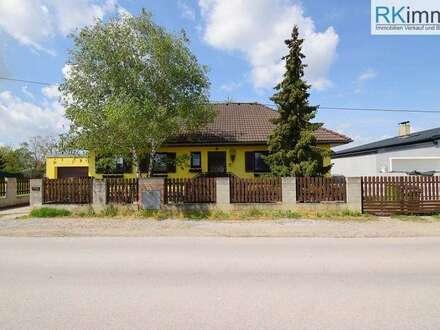 Einfamilienhaus in Siedlungsruhelage Bahnhof Vorort 15 Minuten von Wien !