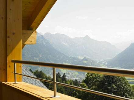 Immobilieninvestment und Feriendomizil: Penthouse Apartment im Ferienpark Brandnertal