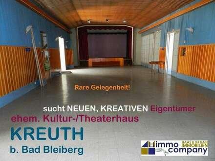 Kunstschaffende und Anleger aufgepasst! Altes, renovierungsbedürftiges Kultur-/Theaterhaus zu verkaufen!