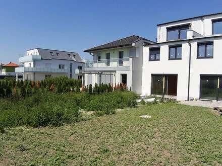 GRÜNFERNBLICK über den DONAU-ODER-KANAL! 4 Zimmer + Wohnküche mit Garten und Dachterrasse!