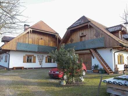 BIO - Exklusives LANDHAUS! KURZVIDEO! mit Innenhof, Werkstatt, Büro 2. Wohneinheit möglich/Physio