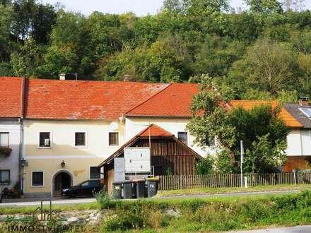 Großzügiges geschichtsträchtiges Gebäude Nähe Emmersdorf / Melk