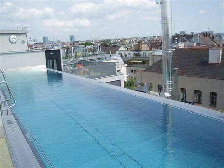 "Geschäftsl./Büro 47m² im Erdgeschoss., barrierefreier generalsan. Altbau ""Niedrigenergiehaus"" Wellnessbereich +Pool am Dach"