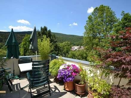 Sonnige Dachterrassen Wohnung in der Villa Rauhenstein