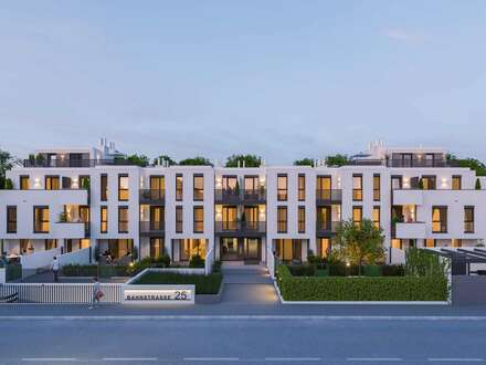 Provisionsfreie Neubauwohnungen mit Freiflächen + Fussbodenheizung! Nähe Bahnhof!