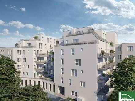 Provisionsfrei! U4! 2 Zimmer - mit Balkon! Neubau in toller Lage - nähe Matznerpark!!
