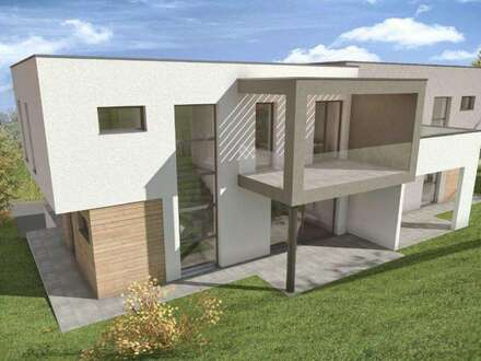 Neubau - Doppelhaushälfte in Dobl mit Garage