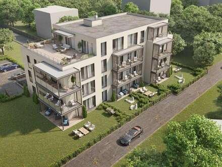 Penthousewohnung mit teilweisem Seeblick - Projekt Fountain Suites