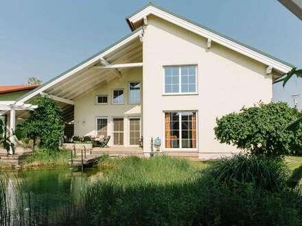 Traumhaus mit Schwimmteich in ruhiger Lage von Deutsch-Wagram