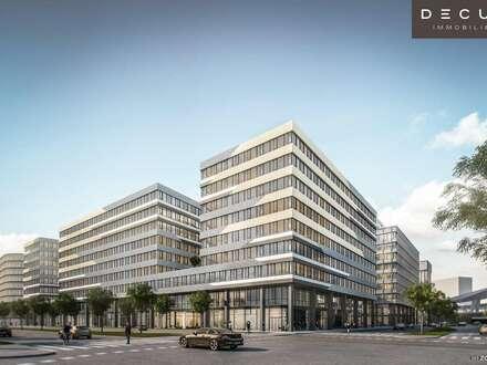 Bürohaus QBC 1 im Quartier Belvedere - AM HAUPTBAHNHOF