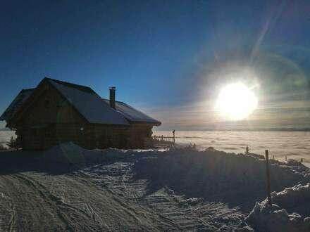 Traumhaftes Naturstammhaus mit Panoramablick auf der HOCHRINDL - Kärnten