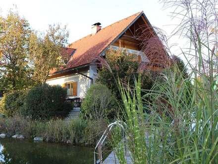 Liebliches Landhaus mit Schwimmteich