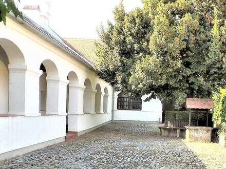 ARKADENHOF mit Wohnhaus, 3 Maisonetten-Wohnungen, Hobby- und Partyraum, Stadl und großem Garten im südlichen Burgenland zu…
