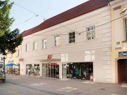 Vermietet wird eine großzügige Lager-/Kellerfläche im Stadtzentrum Wiener Neustadt