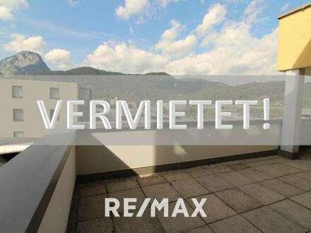 VERMIETET! Zentrale 4-Zi-Terrassenwohnung mit Blick auf Festung und Pendling