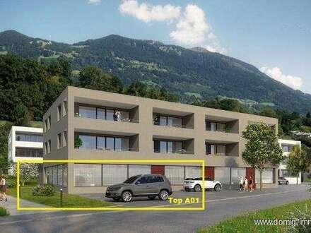 NEUBAU! Große, lichtdurchflutete Geschäftsfläche zu verkaufen - Haus A Top A01 - provisionsfrei!