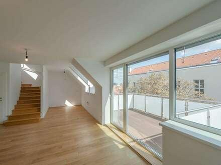 ++NEU++ Hochwertige 4-Zimmer DG-Maisonette, tolle Raumaufteilung, 3 Terrassen!