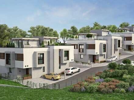 Modern gestaltete Doppelhaushälfte in Grünruhelage, Provisionsfrei; Sulz im Wienerwald