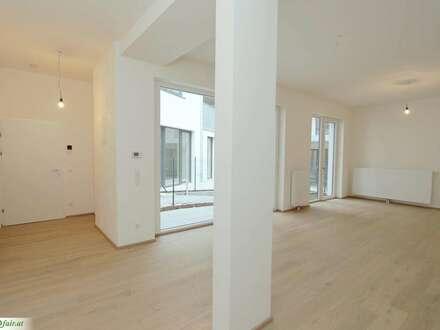 Absolut ruhiges Büro/Gewerbefläche - loftartiger Grundriss - 1 bis 2 Zimmer mit Freifläche - EG - Büro 2: ca. 54,47m² + 11,09m² Garten - € 226.056,01