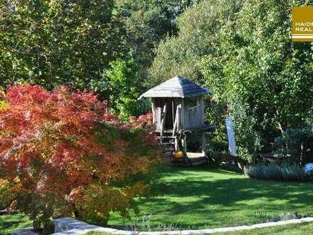 Familienvilla - das ganze Jahr moderner Komfort im Grünen und schnell in der Stadt