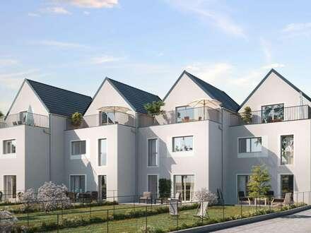 Moderne Reihen- und Doppelhäuser auf Eigengrund, in bester Lage in Langenzersdorf, gute Infrastruktur