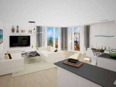 Penthouse-Wohnung mit Terrasse & Dachgarten...