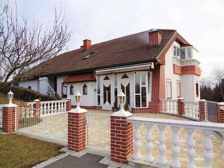 Wunderschönes, gepflegtes und sonniges Zweifamilienhaus in ruhiger Lage ...!