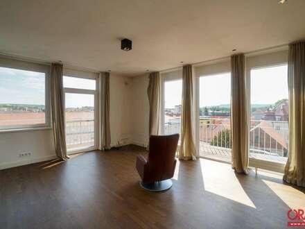 Dachgeschoß-Mietwohnung ohne Schrägen Mitten in der Altstadt mit Rundumblick in 3500 Krems