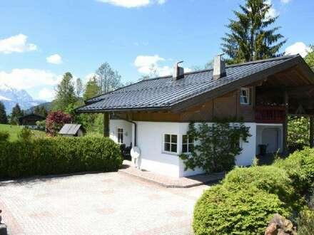Einfamilienhaus mit Kaiserblick in sonniger Traumlage in Fieberbrunn