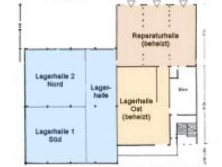 MIETE - Klagenfurt Nord, Halle-Werkstätte 400 m2 + Büro 200m2