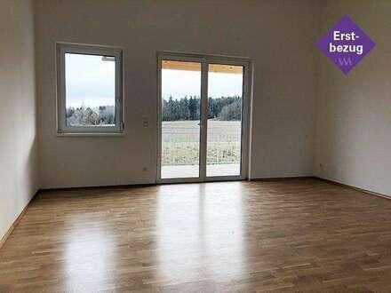 Provisionsfreie Neubauwohnung mit traumhafter Aussicht am Stadtrand von Hartberg ...!