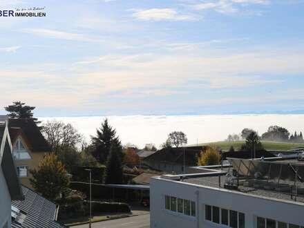 DACHTERRASSENWOHNUNG 20m² DACHTERRASSE TRAUMHAFTE FERNSICHT BIS IN DEN ALPENBOGEN