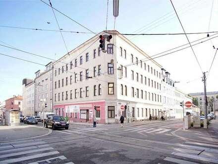 Immobilienpaket: Geschäftlokal mit Wohnungen in der Rosensteingasse