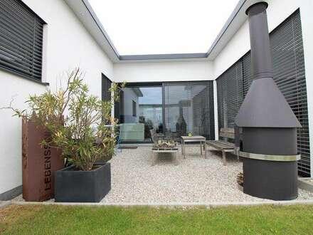moderne Wohneinheit mit Eigengarten und PKW-Stellplätze
