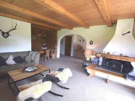 Ferienwohnung - Sehr gemütliche Gartenwohnung in absoluter Aussichts-Alleinlage am Kitzbüheler Horn