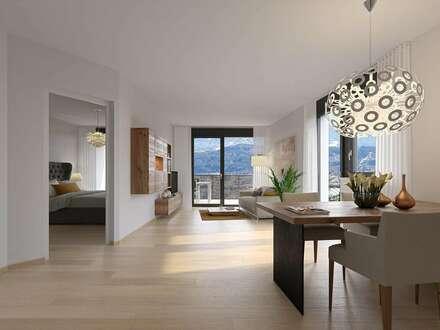 Pärchentraum: Open Space Wohnung mit Balkon und Gärtchen