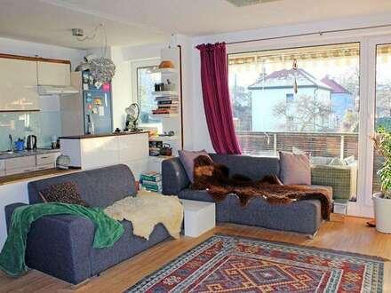 Sonnige 2 Zimmerwohnung mit Westbalkon Hall Lendgasse ab 01.04. zu vermieten