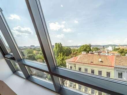 ++AUGARTENBLICK** Tolle 3-Zimmer DG-Maisonette! Terrasse u. Dachterrasse mit unglaublichem WEITBLICK!