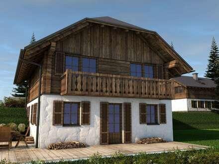 Nockberge! Traditionelle Almhütte in wunderschöner Aussichtslage
