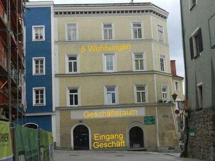 Wohn - und Geschäftshaus in der Barockstadt Schärding