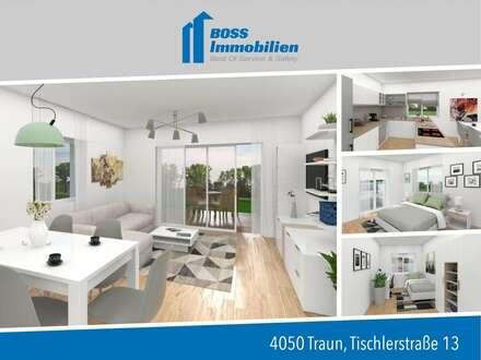 4 Zimmerwohnung für die ganze Familie mit Garten - Tischlerstraße 13, Traun