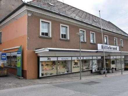 Geschäftshaus mit Wohnungseigentum, gute Rendite, Feldkirchen