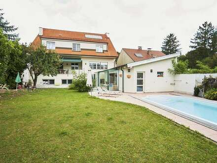 Lifedream in top location on privately-owned land - near church/ cellar lane/ center Langenzersdorf!