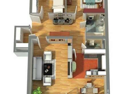 Top-Preis: 3-Zi-Eigentumswohnung, Loggia, TG-Platz